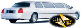 Limo Hire Swansea - Cars for Stars (Swansea) offering white, silver, black and vanilla white limos for hire