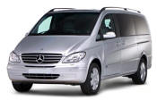 Chauffeur driven Mercedes Viano people carrier - Up to 7 passengers in comfort, from Cars for Stars (Swansea) - Airport Transfer Services
